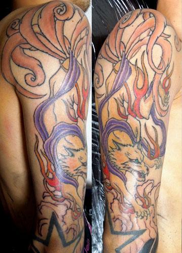 九尾の狐の刺青