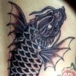 化鯉の刺青