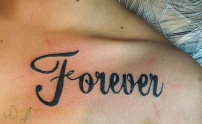 foreverのタトゥー